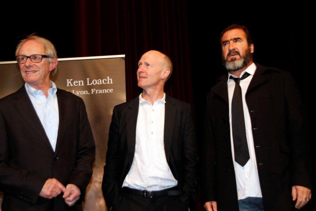 Ken Loach, Steve Evets et Eric Cantona - Festival Lumière 2012 - Lyon - Photo © Anik Couble