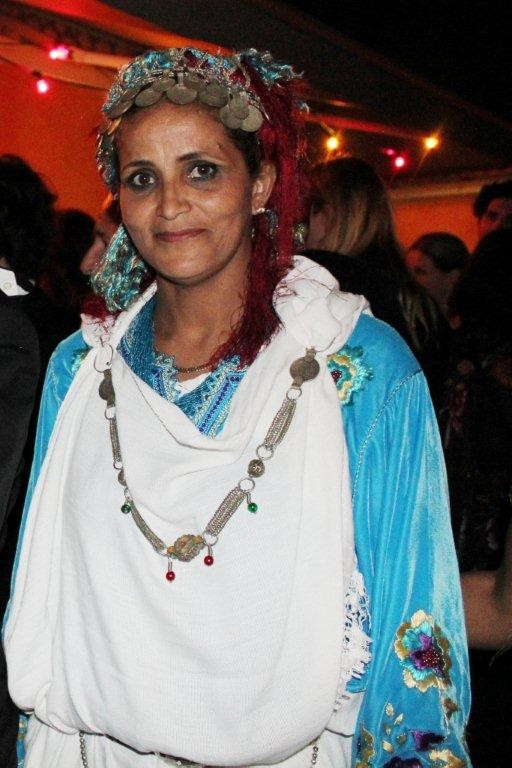 """Une habitante du village, lors de la soirée du  film """"La Source des Femmes'"""" de Radu Mihaileanu"""" - Festival de Cannes 2011 - Photo © Anik COUBLE"""