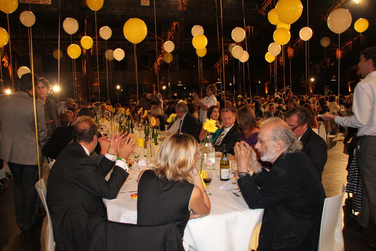 Table d'Honneur du Diner d'ouverture - Festival Lumière 2011 - Lyon - Photo © Anik COUBLE