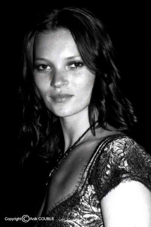 Kate Moss 1999  / Photo : Anik Couble