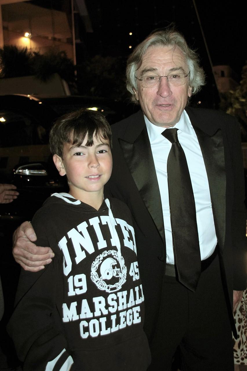 Alan Badaoui-Couble et Robert De Niro - Festival de Cannes 2012 © Anik COUBLE