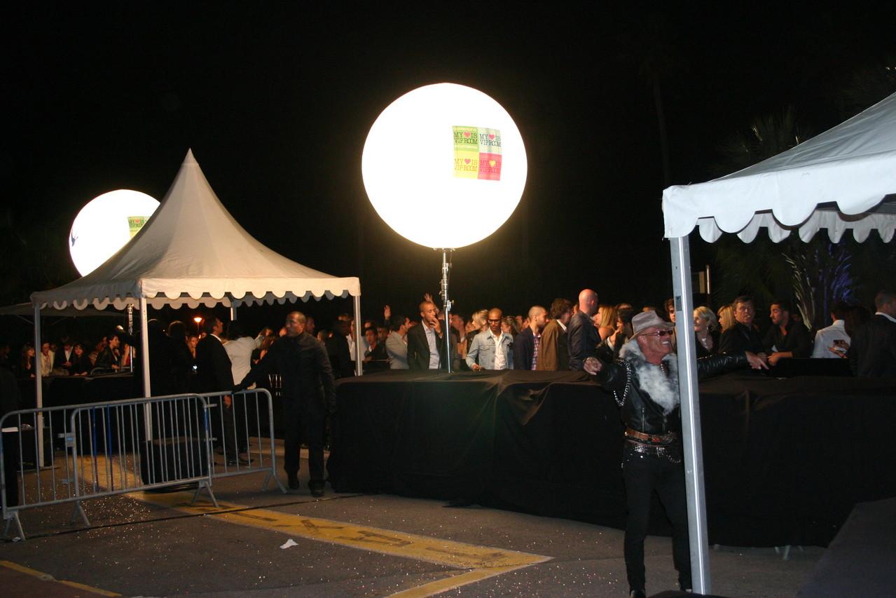 VIP Room de Jean Roch - Festival de Cannes 2010 © Anik COUBLE