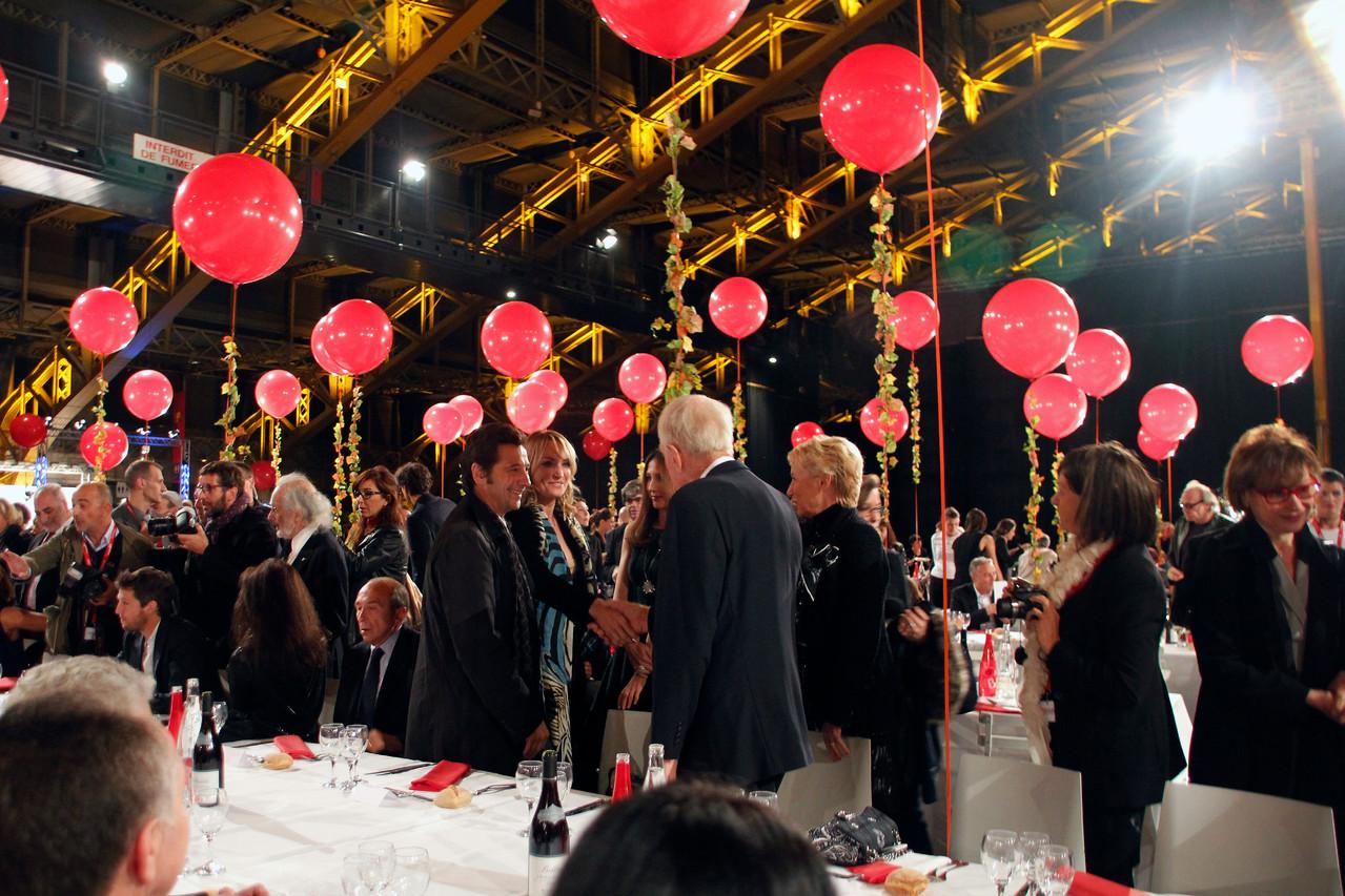 Diner d'ouverture - Festival Lumière 2012 - Lyon - Photo © Anik COUBLE
