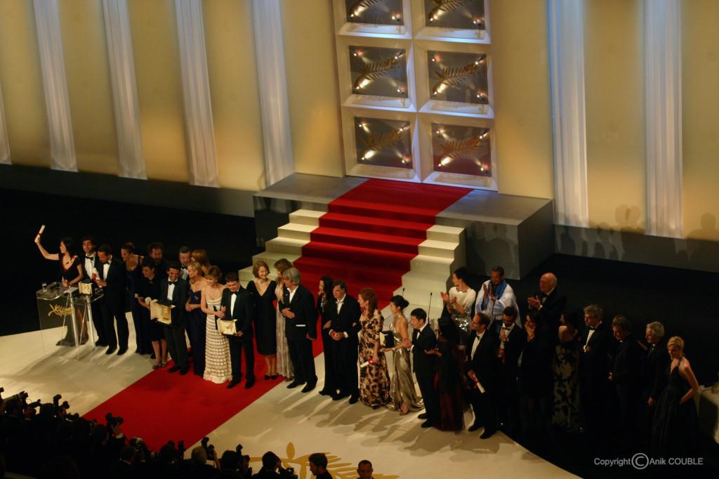Tous les lauréats de la Cérémonie de Clôture 2007 / Photo : Anik Couble