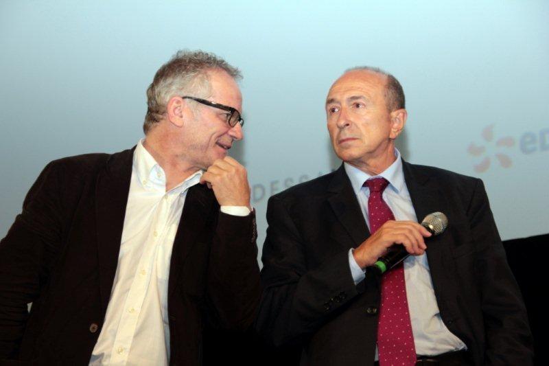 Thierry Fremaux et Gérard Collomb - Festival Lumière 2011 - Lyon - Photo © Anik COUBLE