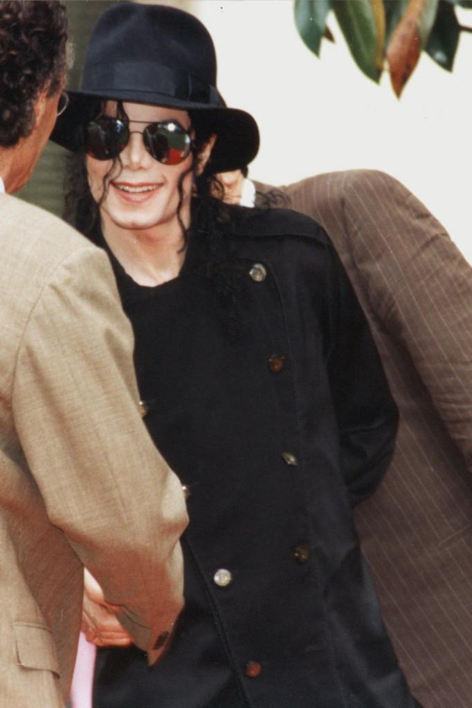 Michael Jackson - Institut Lumière - Lyon - 1997 © Anik COUBLE