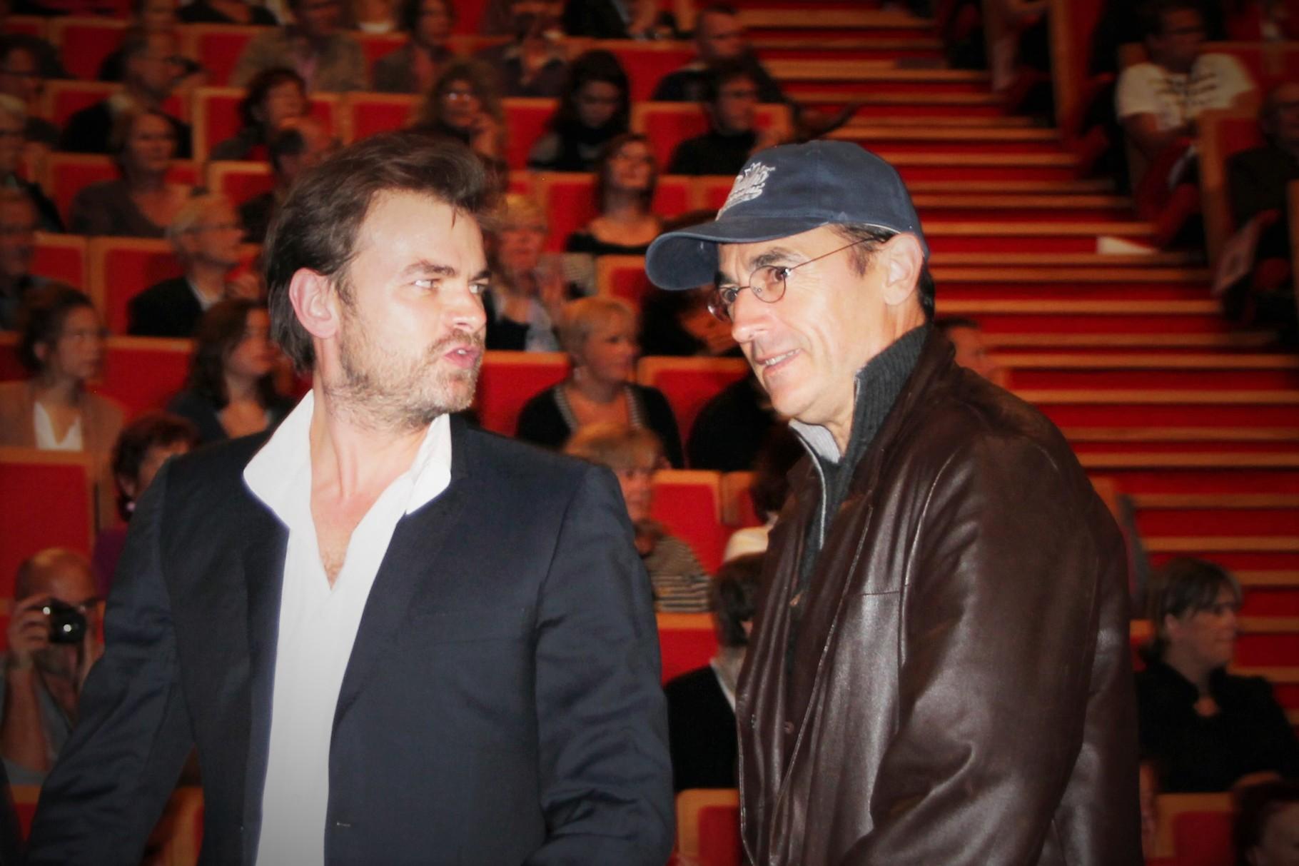 Clovis Cornillac et Albert  Dupontel - Festival Lumière 2011 - Lyon - Photo © Anik COUBLE