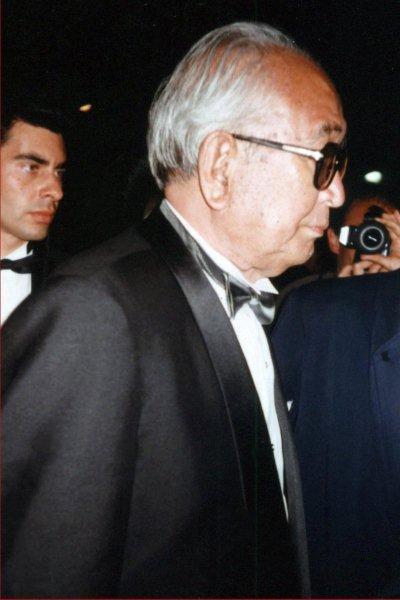 Akira KUROSAWA - Festival de Cannes - Photo : Anik Couble