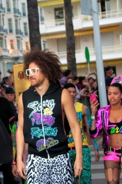 Redfoo de LMFAO - Festival de Cannes 2012 - Photo © Anik COUBLE
