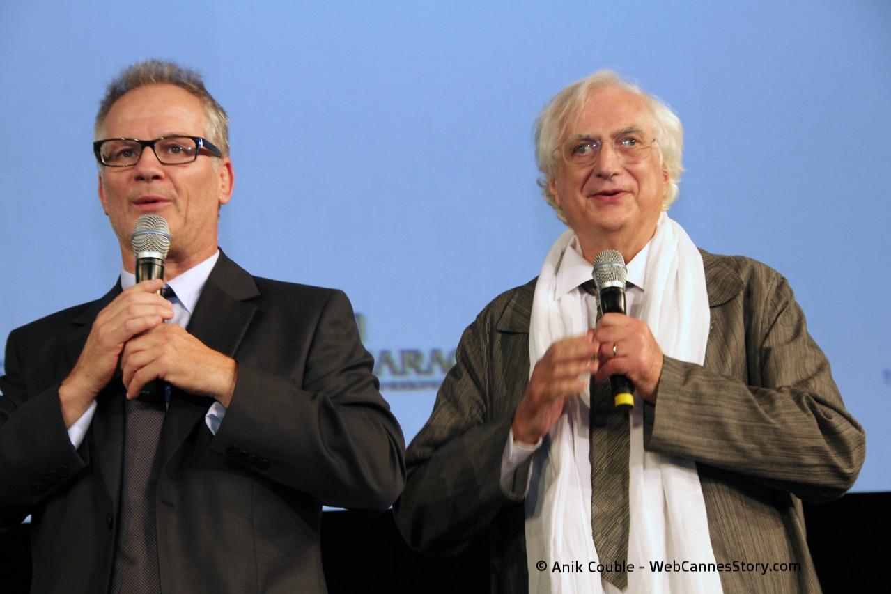 Les Maîtres de Cérémonie, Thierry Fremaux et Bertrand Tavernier - Festival Lumière 2011 - Lyon - Photo © Anik COUBLE