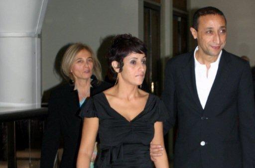 Faouzi Bensaïdi, membre du Jury, accompagné de son épouse - Festival de Marrakech 2010 © Anik COUBLE
