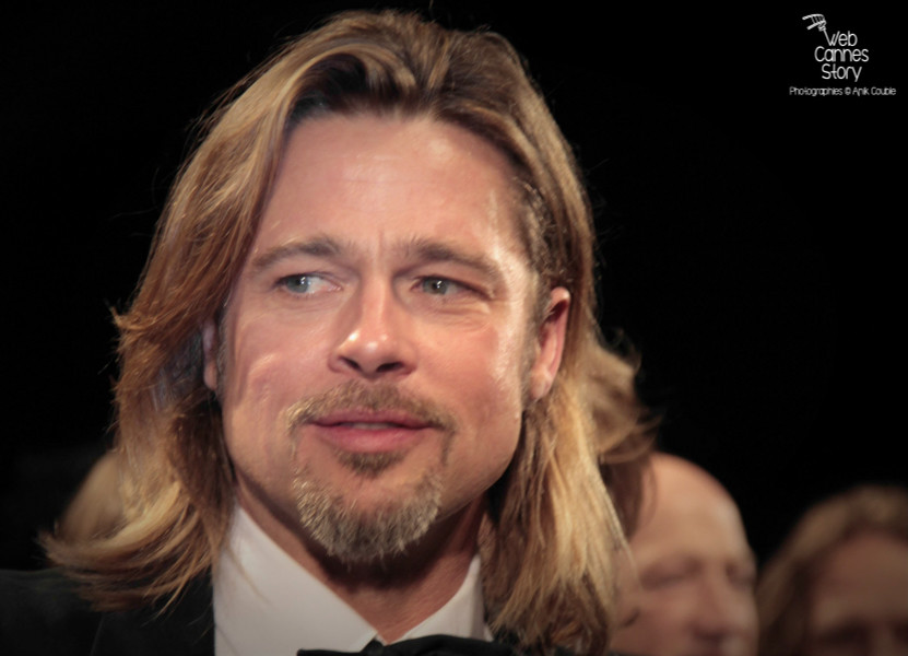 "Brad Pitt, lors de la projection  de ""Cogan - La mort en douce""  d'Andrew Dominik - Festival de Cannes 2012 - Photo © Anik COUBLE"