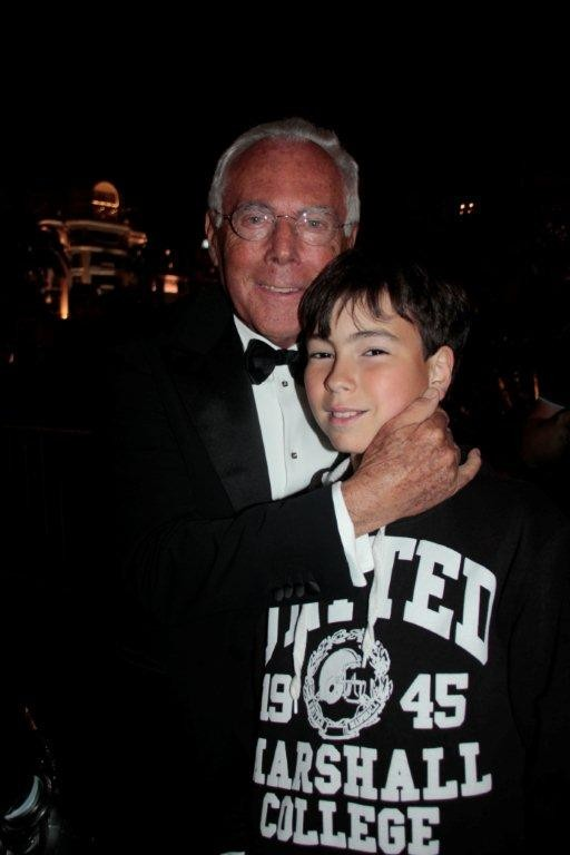 Giorgio Armani et Alan Badaoui-Couble - Festival de Cannes 2012 - Photo © Anik COUBLE