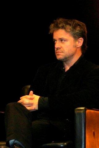 Eric Guirado, lors de la remise du Prix Lumière, à Milos Forman - Festival Lumière 2010 - Lyon - Photo © Anik COUBLE