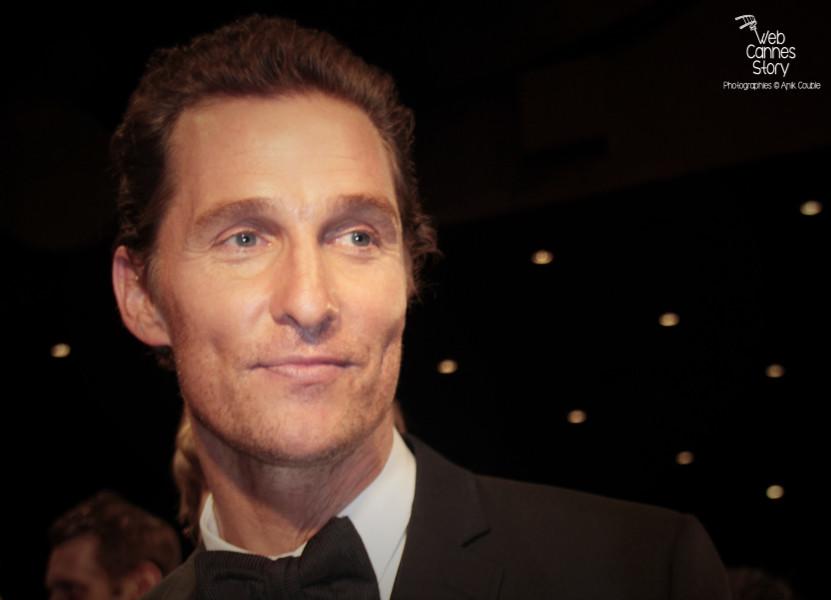 """Matthew McConaughey, lors de la projection du film """"Mud"""" de Jeff Nichols - Festival de Cannes 2012 - Photo  © Anik Couble"""