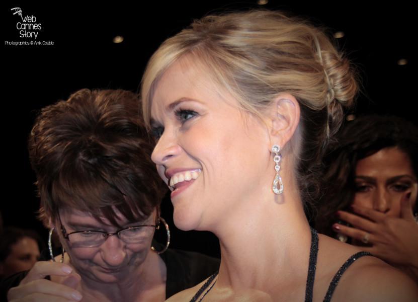 """Reese Witherspoon, lors de la projection du film """"Mud"""" de Jeff Nichols - Festival de Cannes 2012 - Photo  © Anik Couble"""
