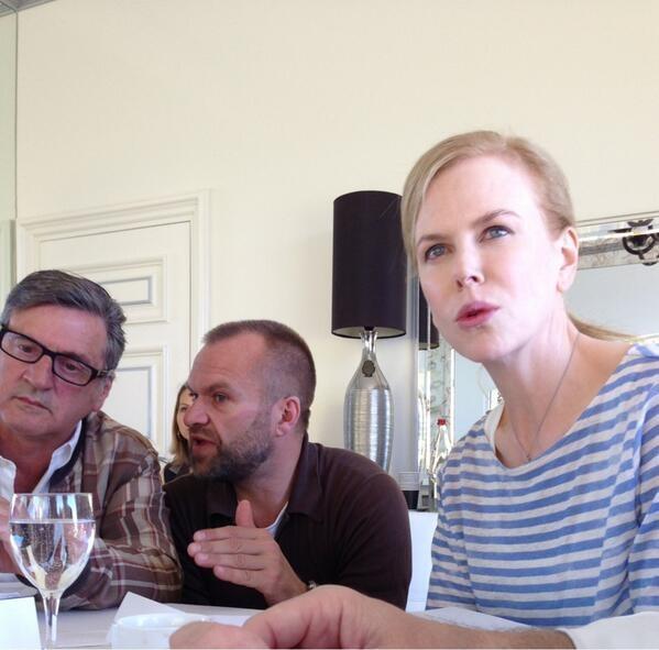 Daniel Auteuil et Nicole Kidman,  lors des délibérations - Festival de Cannes 2013 © Gilles JACOB