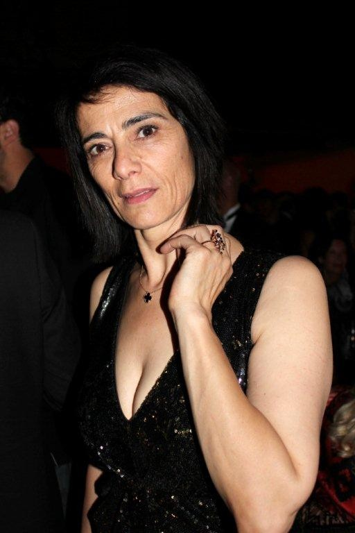 """Hiam Abbass, lors de la soirée du  film """"La Source des Femmes'"""" de  Radu Mihaileanu"""" - Festival de Cannes 2011 - Photo © Anik COUBLE"""
