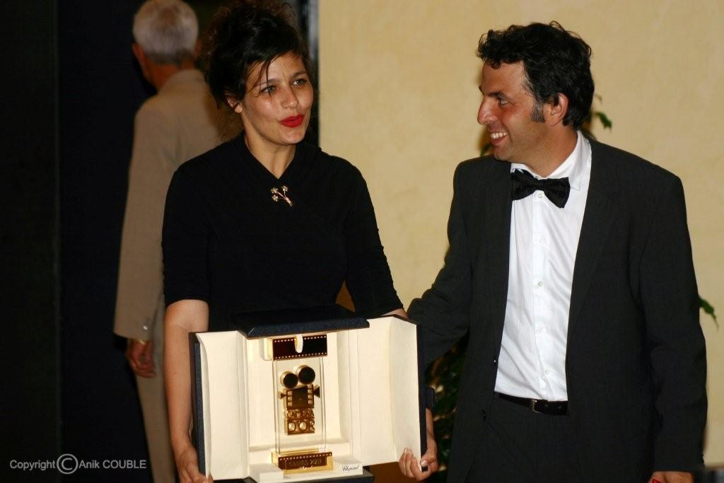 Camera d'Or pour Etgar Keret et Shira Geffen en 2007 / Photo : Anik Couble
