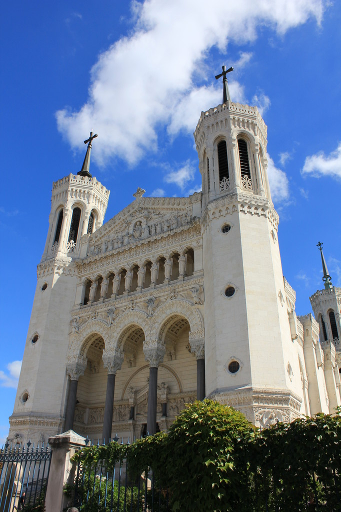 Basilique de Fourvière - Lyon - Photo © Anik COUBLE