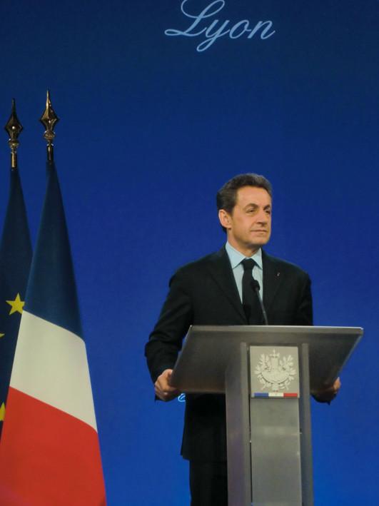 Nicolas Sarkozy-  Eurexpo Chassieu - Lyon -  Janvier 2012 - Photo © WebCannesStory
