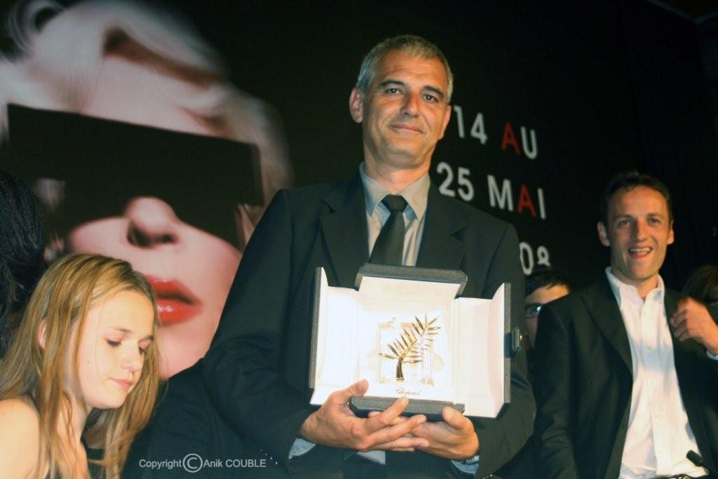 Palme d'Or pour Laurent Cantet en 2008 / Photo : Anik Couble