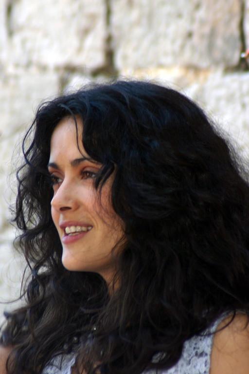 Salma HAYEK - Festival de Cannes 2005 - Photo © Anik COUBLE