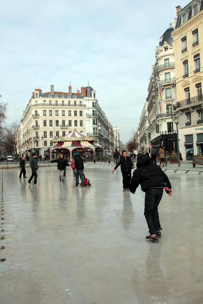 Place de la République - Lyon - Février 2012 - Photo © Anik COUBLE