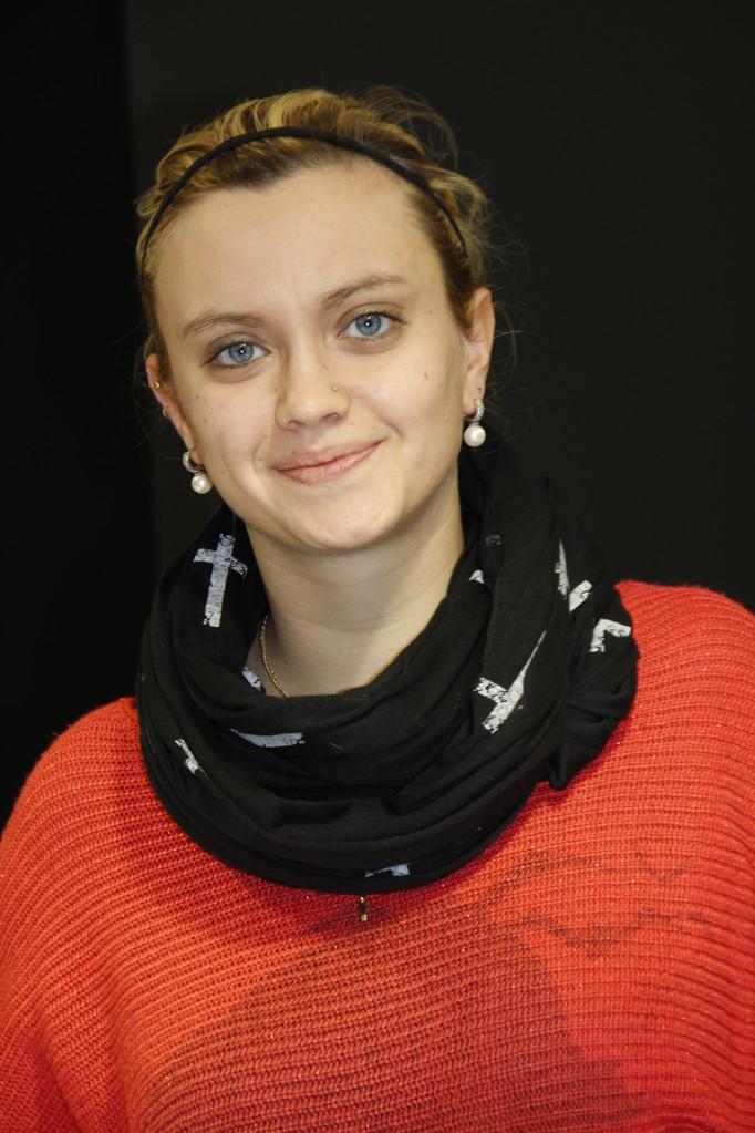 """Amandine Bardy, de l'équipe des  """"Atelières"""" - Villeurbanne - Février 2013 © Anik COUBLE"""