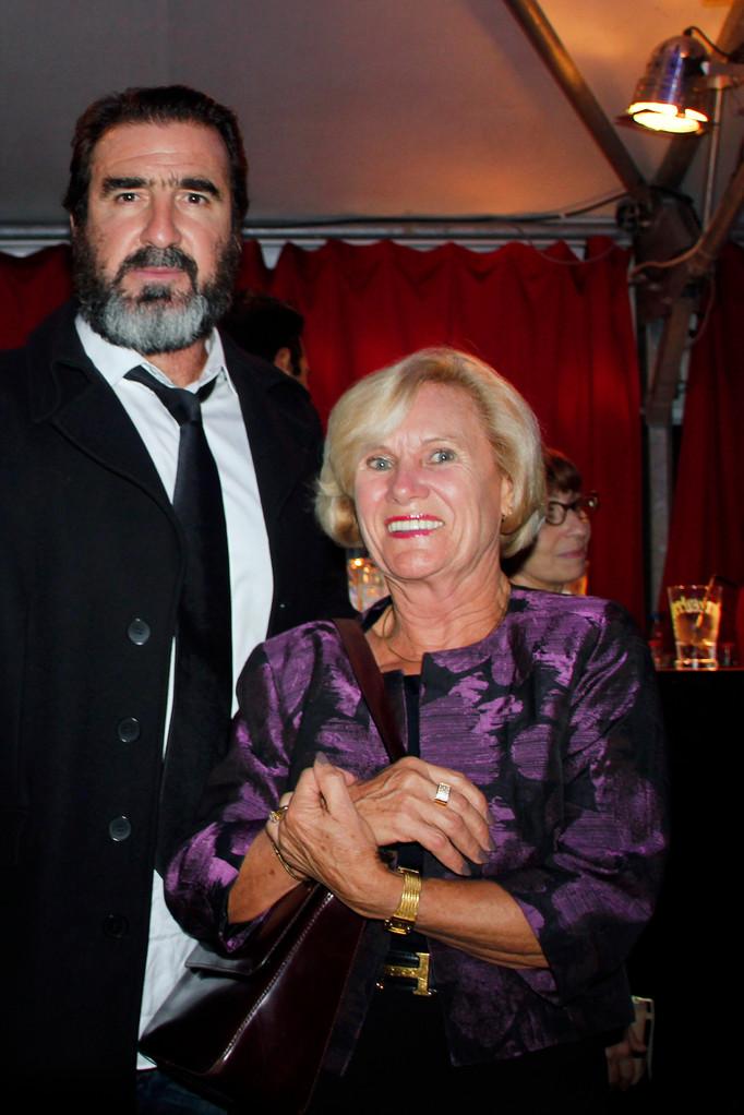 Eric Cantona et Michèle Lefrancq-Lumière- Festival Lumière 2012 - Lyon © Anik COUBLE