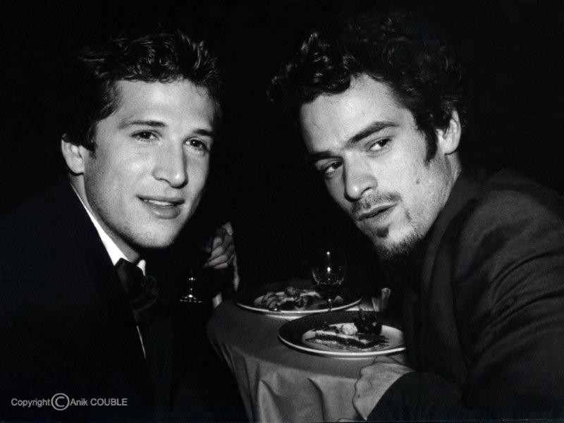 Guillaume Canet et Romain Duris 1999  / Photo : Anik Couble