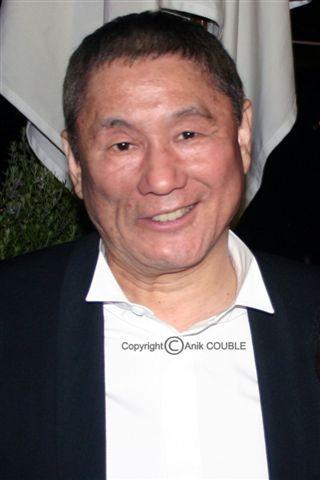 Takeshi Kitano - Festival de Cannes 2010 © Anik COUBLE