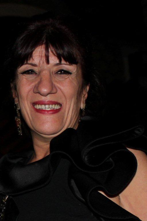 """Byouna, lors de la soirée du  film """"La Source des Femmes'"""" de  Radu Mihaileanu"""" - Festival de Cannes 2011 - Photo © Anik COUBLE"""