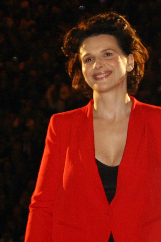 Juliette Binoche - Cérémonie d'ouverture du Festival Lumière - Lyon - Oct 2010 © Anik COUBLE
