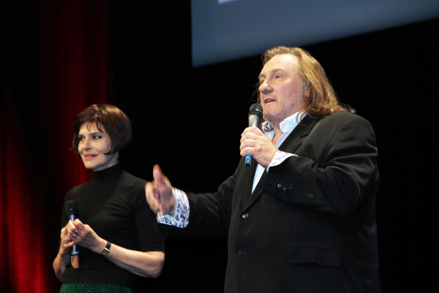 Fanny Ardant et Gérard Depardieu - Festival Lumière 2011 - Lyon - Photo © Anik COUBLE