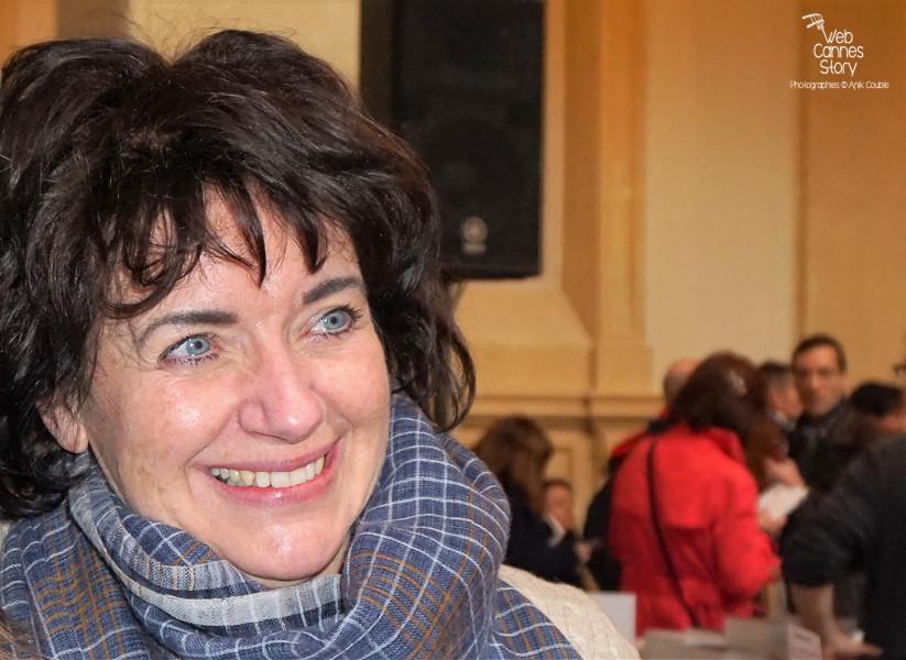 Vivianne Moore, auteure française  - Quais du Polar 2016 - Lyon - Photo © Anik Couble