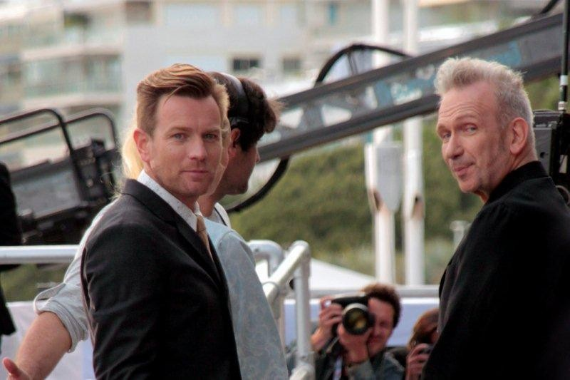 Ewan Mc Gregor et Jean-Paul Gaultier, membres du Jury - Festival de Cannes 2012 - Photo © Anik COUBLE