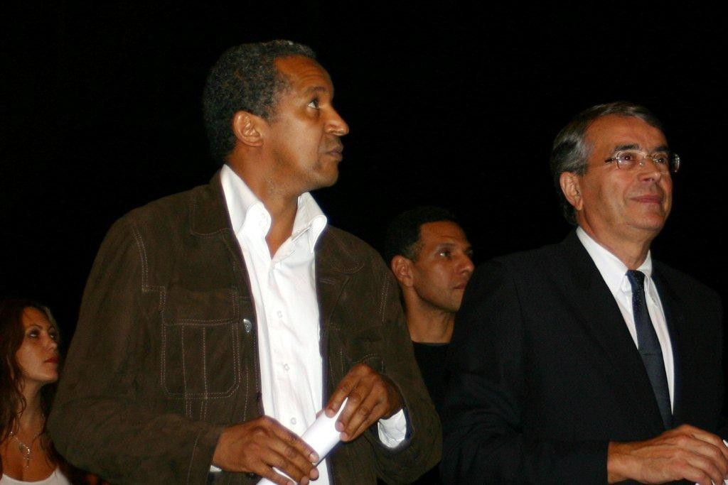 Jean-Jack QUEYRANNE et Abdrehaman SISSAKO  -  2010 © Anik COUBLE