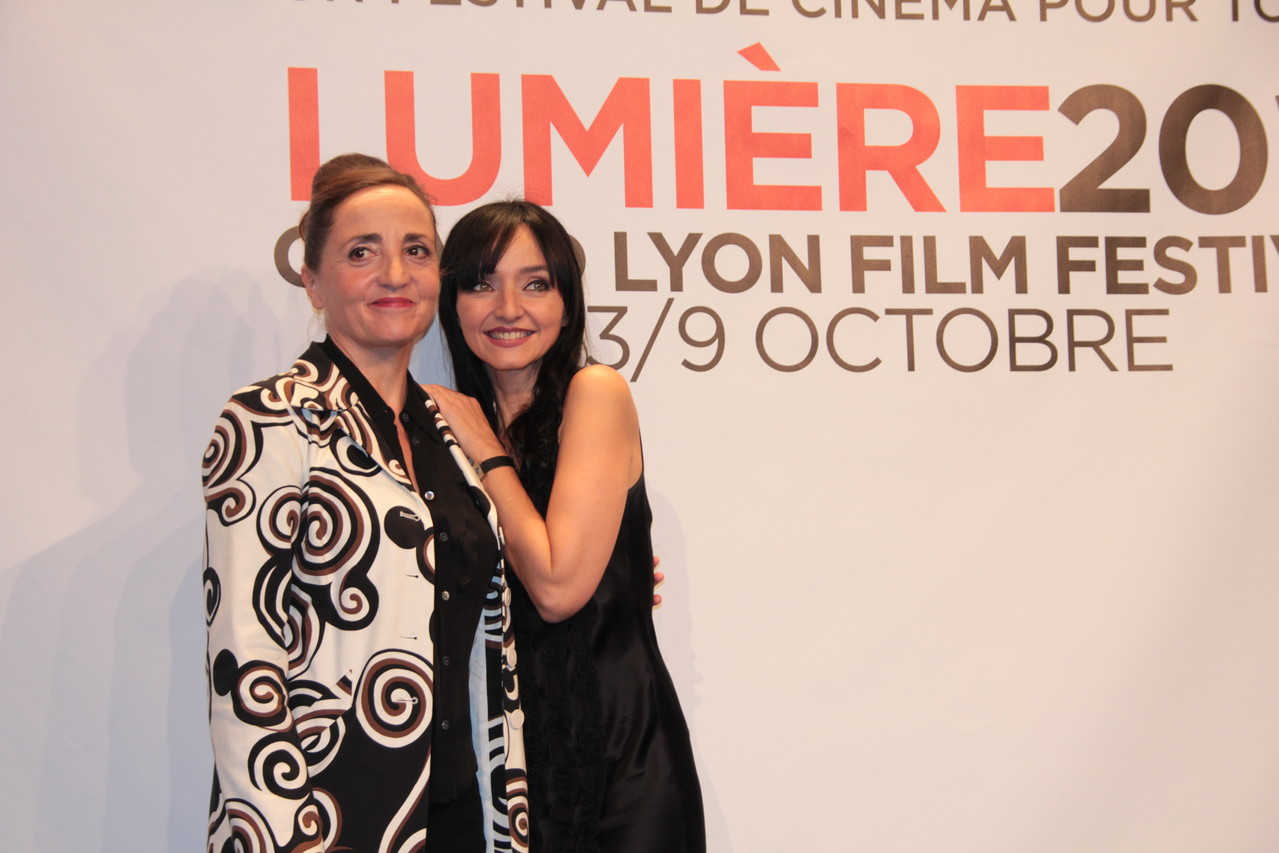 Dominique Blanc et Maria de Medeiros - Festival Lumière 2011 - Lyon - Photo © Anik COUBLE