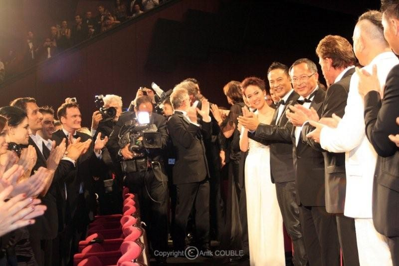 "Projection de "" Vengeance "" de  Johnny To  - Festival de Cannes 2009 - Photo © Anik COUBLE"