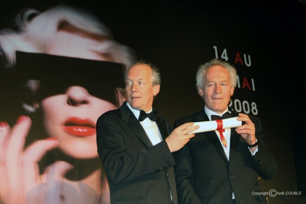 Prix du scénario pour les frères Dardenne en 2008 / Photo : Anik Couble