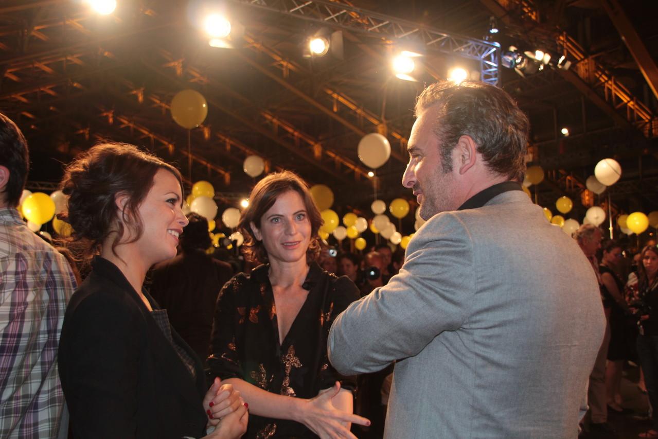 Jean Dujardin et Bérenice Bejo - Festival Lumière 2011 - Lyon - Photo © Anik COUBLE