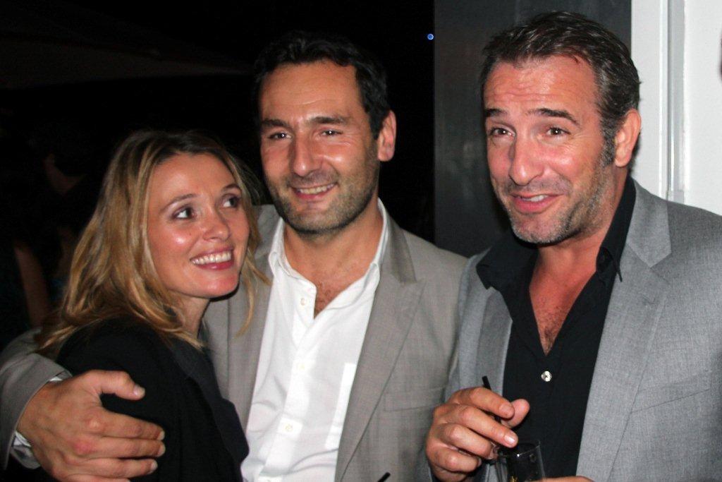 Jean Dujardin, Gilles Lellouch et  Anne Marivin  / Photo : Anik Couble
