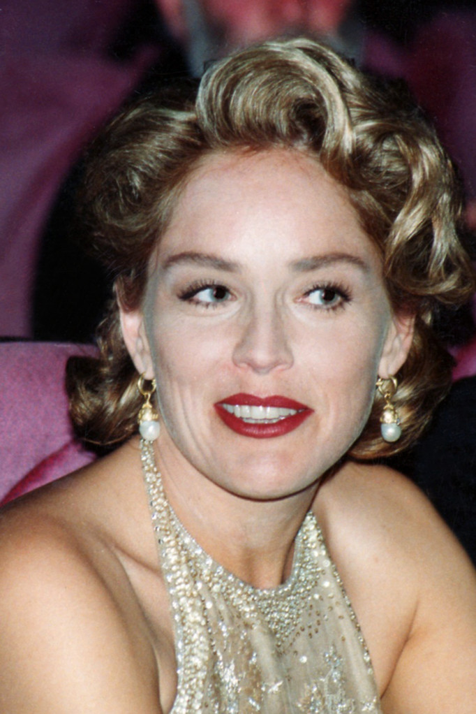 Sharon Stone - Festival de Cannes 1995 - Photo © Anik COUBLE