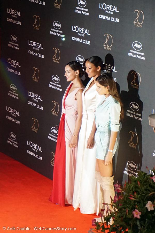 Soirée L'Oréal Paris, célébrant leurs 20 ans de partenariat avec le Festival de Cannes - Festival de Cannes 2017 - Photo © Anik Couble