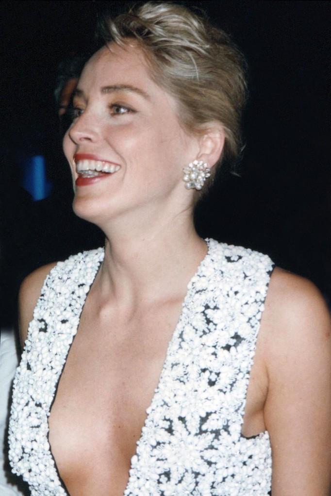 Sharon Stone - Festival de Cannes 1992 © Anik COUBLE