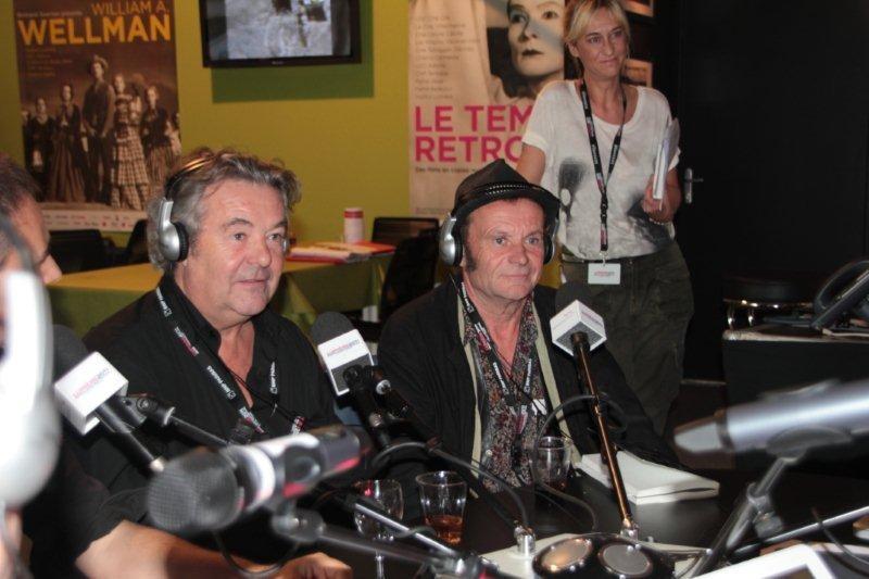 Les frères Lartigue invités à Radio Lumière  / Photo : Anik Couble