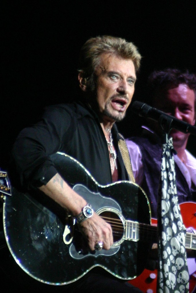 Johnny Hallyday - Lyon - Octobre 2006 © Anik COUBLE