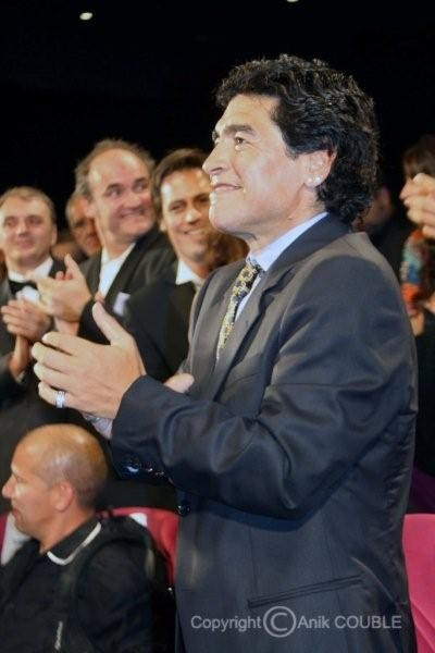 "Projection de ""Maradona"" de  Emir Kusturica - Festival de Cannes 2008 - Photo © Anik COUBLE"