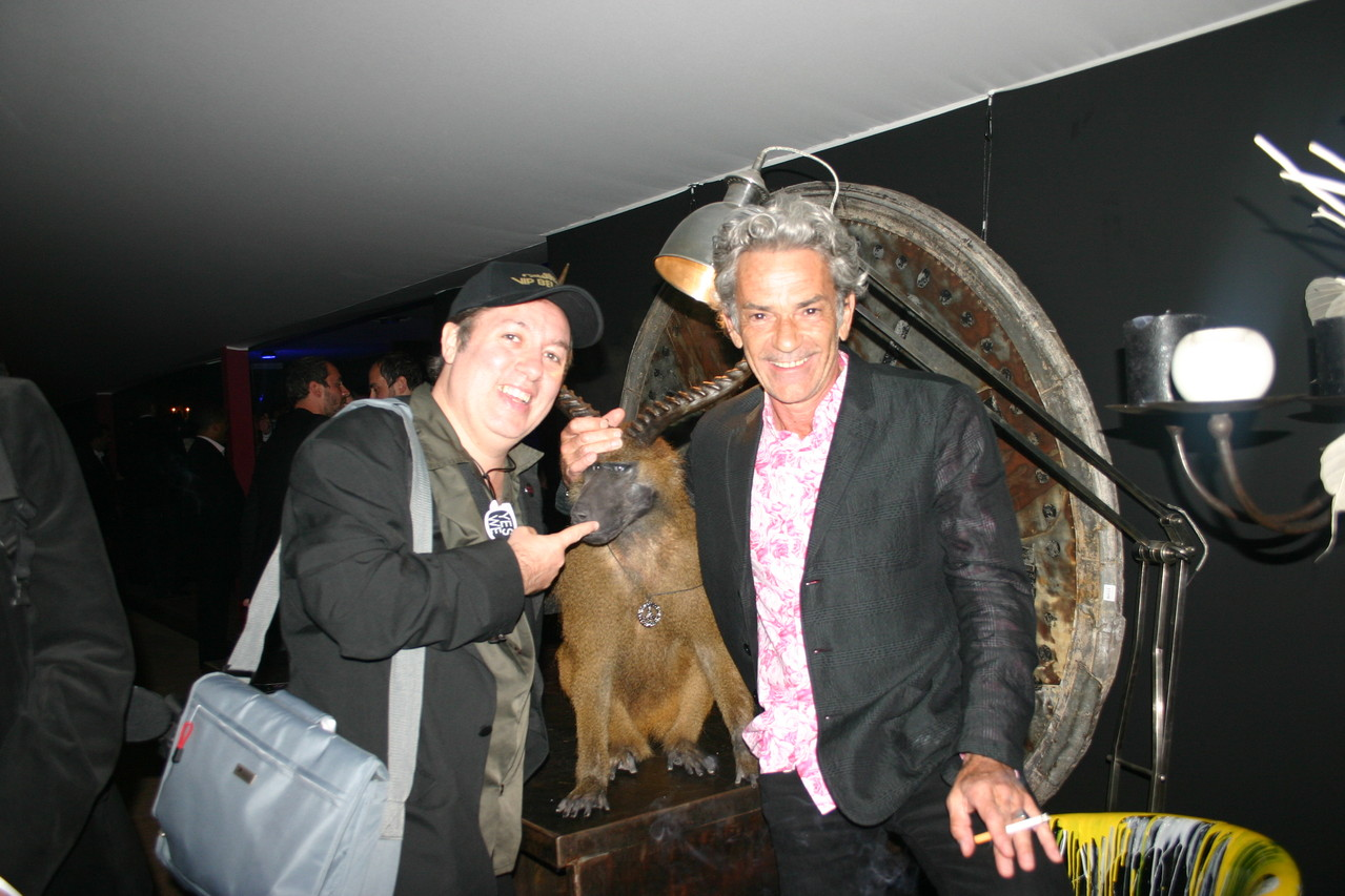 """Hugo Mayer et Michel Rebichon au """"Chéri Chéri"""" - Festival de Cannes 2010 © Anik COUBLE"""